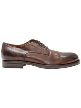 Old buffalo derby shoes