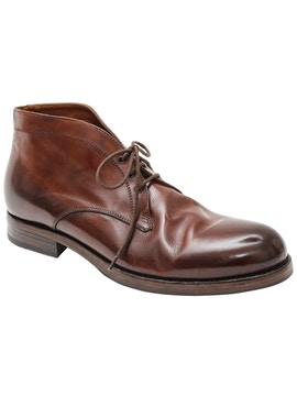 Chukka in pelle old brandy