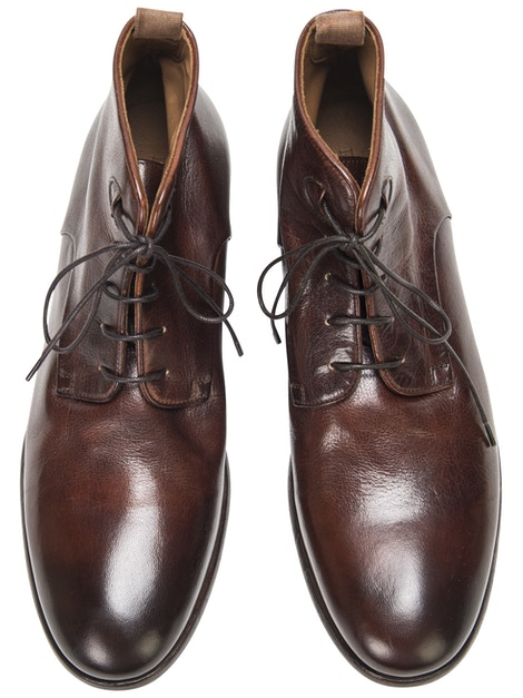 Old brandy brogue shoes