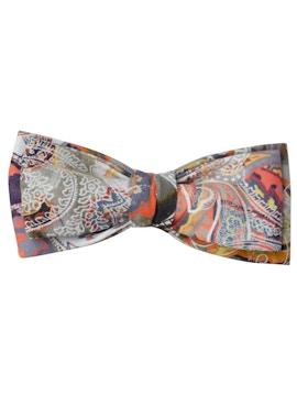floral design bow tie