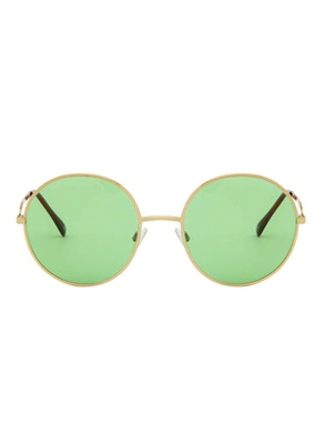 Logan Gold – Light Green Lenses