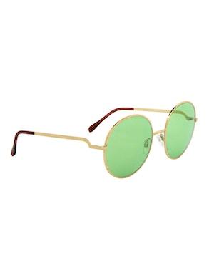 Logan Gold – Light Green Lenses