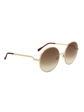 Logan Gold  – Gradient Brown Lenses