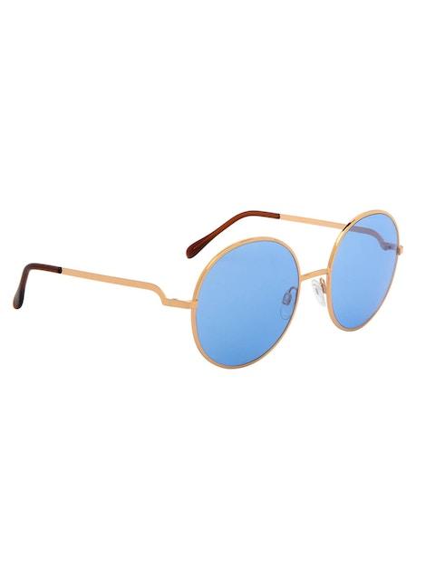 Logan Gold Rose – Light Blue Lenses
