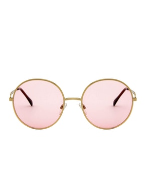 Logan Gold – Light Pink Lenses