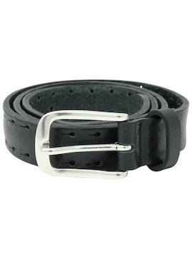Brown perforated belt h2,5