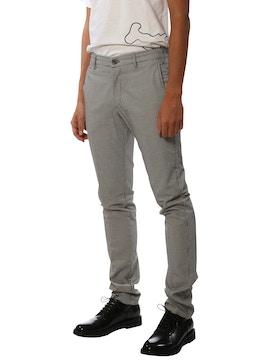 pantalone lungo pied de poule