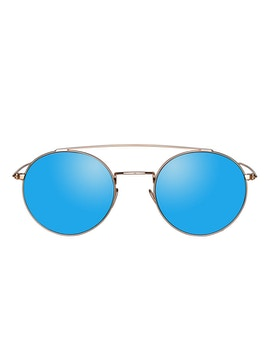Colin Gold - Blue Mirror Lenses