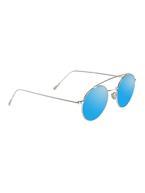 Colin Silver - Blue Mirror Lenses