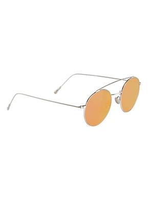 Colin Silver - Pink Mirror Lenses