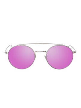 Colin Silver - Purple Mirror Lenses