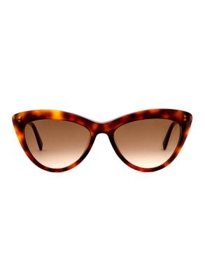 Meryl Dark Havana - Gradient Brown Lenses