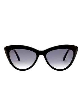 Meryl Black - Gradient Grey Lenses
