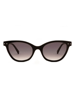 Audrey Black - Gradient Grey Lenses