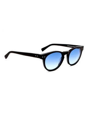 Woody Matte Black - Gradient Blue Lenses
