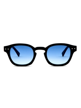 Johnny Black - Gradient Blue Lenses
