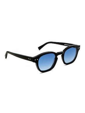 Johnny Black - Gradient Blue Lenses