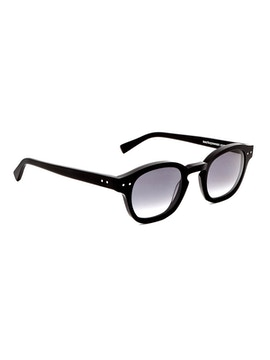 Johnny Matte Black - Gradient Grey Lenses