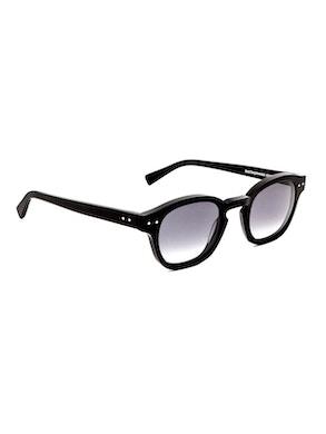 Johnny Matte Black - Gradient Grey Lenses