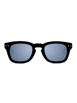 Clark Black - Gradient Grey Mirror Lenses