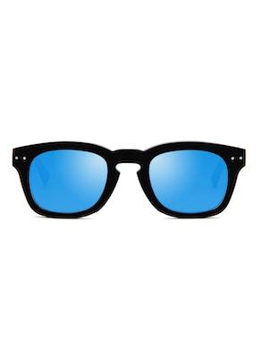 Clark Nero - Lente Blu Degradante Specchiata