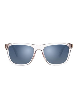 Jordan Crystal Grey - Gradient Grey Mirror Lenses