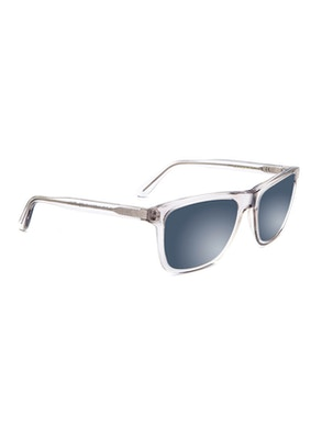 Jordan Crystal Grey - Gradient Grey Mirror Lenses